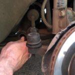 Замена рулевых наконечников Хендай